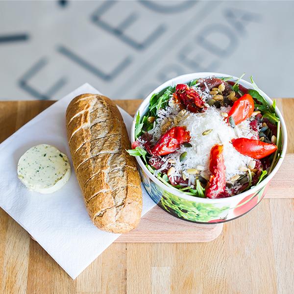 Salade Carpaccio voor Lunch